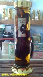 Rượu Nấm Linh Chi chai thủy tinh cao cấp Hàn Quốc