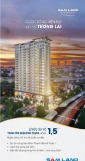 [Hot] Chỉ 1,5 tỷ/ căn sở hữu ngay căn hộ TT Bình Thạnh, view sông Sài gòn.
