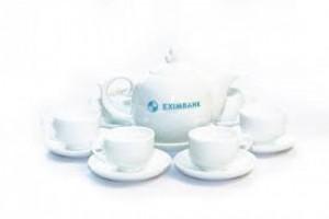 In logo bộ ấm trà Đà Nẵng, sản xuất in bộ ấm trà Đà Nẵng