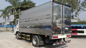 Thái bình bán xe tải jac 3,5 tấn 3 tấn Hải Phòng thùng bạt, thùng kín, giá rẻ