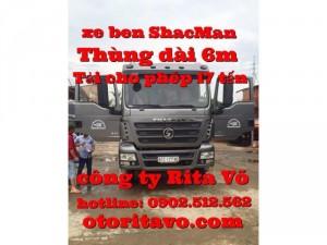 Xe ben shacman, howo ở Đồng Nai