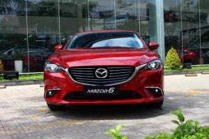 Mazda 6 Facelift 2017 ưu đãi tốt tại TP.HCM