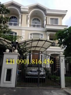 Bán biệt thự liên kế vườn 2 mặt tiền Hưng Thái, Phú Mỹ Hưng giá 16.3 tỷ