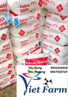 Calcium Chloride (Canxi Clorua) Flake 77%