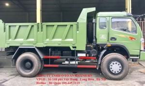 Xe tải ben 7,5 tấn 2 cầu visai dongfeng