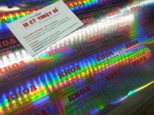Tem decal 7 màu với chất lượng cao, đảm bảo úy tín thương hiệu của bạn - In Kỹ Thuật Số in tem 7 màu cho Điện lanh, Điện Da Dụng Khoa tại Bình Thạnh.