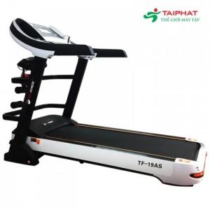Máy chạy bộ điện đa năng tech fitness tf-19as