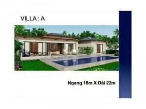 Bán villa hồ tràm chỉ với 8 triệu/m2