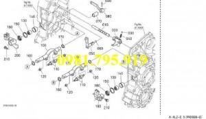 Trục thay đổi biên độ Kobuta PRO 688G.