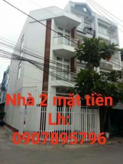 Nhà diện tích 4.5 x 16 quận Bình Tân