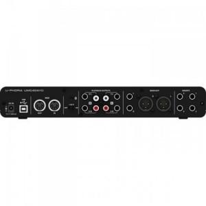 Card âm thanh Behringer U-PHORIA UMC204HD, UMC404HD USB/MIDI