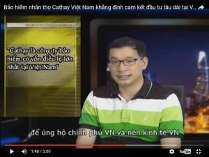 Bảo hiểm nhân thọ Cathay Việt Nam tuyển dụng, Cathay Việt Nam tuyển nhân viên kinh doanh,