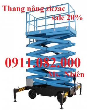 Thang nâng người, thang nâng điện, thang nâng đôi giá rẻ