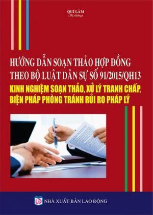 Hướng dẫn soạn thảo Hợp đồng hợp tác theo quy...