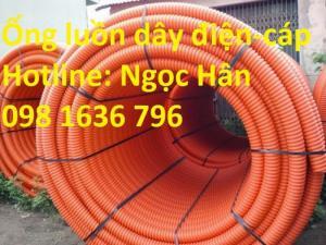 Ống nhựa gân xoắn HDPE - Ống luồn dây điện dây cáp - Ống HDPE giá rẻ
