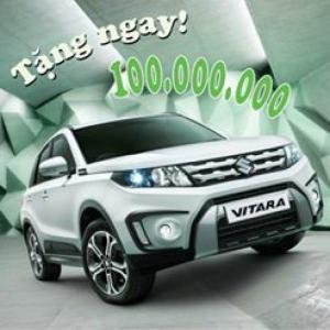 Suzuki Vitara Khuyến mãi 100 triệu