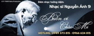 Bán vé đêm nhạc Buồn ơi chào mi - tưởng niệm 1 năm ngày mất nhạc sĩ Nguyễn Ánh 9