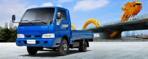 Xe tải Thaco K165 2T4 lưu thông trong thành phố