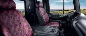 không gian được thiết kế  hài hòa trên xe tải hyundai HD320, kết hợp chức năng có hiệu quả. Tay lái có chức năng điều chỉnh phù hợp với người lái , vị trí công tắc điều khiển và hệ thống bảng điều khiển được cung cấp để dễ dàng để lái xe. Từ bảng điều khiển và cửa sổ điện bao quanh với hệ thống khóa cửa trung tâm và nhiều thùng chứa, tất cả các tính năng trong cabin làm việc để giảm bớt căng thẳng của việc lái xe hàng ngày.