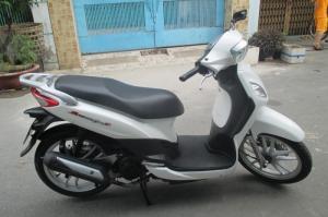 Xe Sym Phony 125cc,xe nhập, màu trang sua nhé...