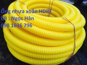 Ống luồn dây điện ngầm HDPE Phi 40/30 giá tốt