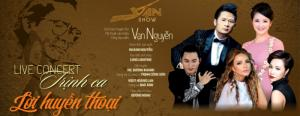 Đêm nhạc Trịnh Công Sơn ngày 22/04/2017 chính thức hết vé 600k, 800k.
