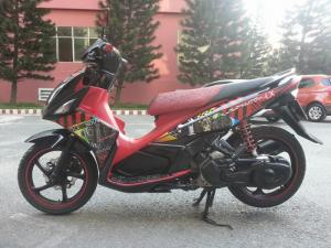Yamaha Nouvo LX 135 Tem 4G Đăng Ký 2013 BS...