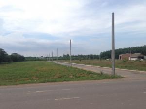 Đất thổ cư mặt tiền đường phùng hưng, sổ đỏ riêng từng nền, xây dựng tự do.
