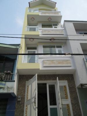 Nhà mới 100%,thiết kế 1 triệt+2 lầu+sân...