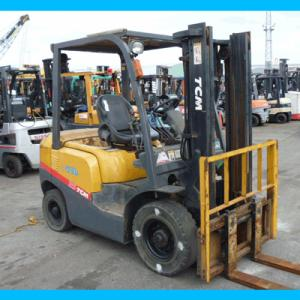 Xe nâng dầu 2.5 tấn, Xe nâng dầu TCM FD25C3,...