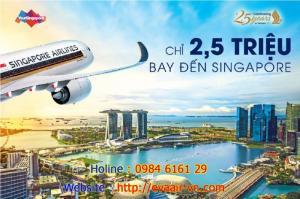 Không thể tin được, Bay Singapore cùng Singapore Airlines chỉ có 2,5 triệu đồng vé khứ hồi