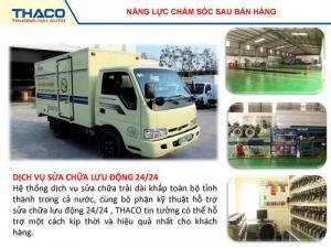 Xe tải thaco towner 900kg chạy trong thành phố