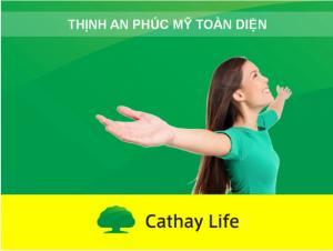 Bảo hiểm Phụ nữ Thịnh An Phúc Mỹ Toàn Diện C19, bảo hiểm Cathay Life Việt Nam