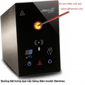 Buồng tiệt trùng que cấy bằng điện model Sterimax Smart