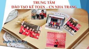 Học kế toán thực hành tại Nha Trang