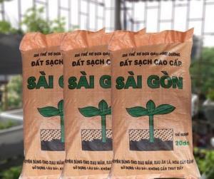 Đất hữu cơ Sài Gòn trồng rau sạch