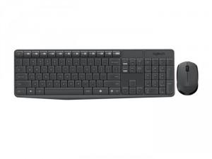 Bộ bàn phím chuột không dây Logitech MK236 Wireless