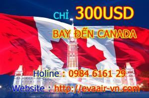 Khuyến mãi đi CANADA chỉ 300 USD (Chỉ còn duy nhất 5 vé)