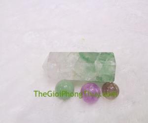 Trụ dạ quang xanh tím-FGM049-F1-1058