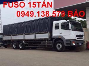 Bán xe tải FUSO FJ24R 15tan _ 16tan thùng mui...