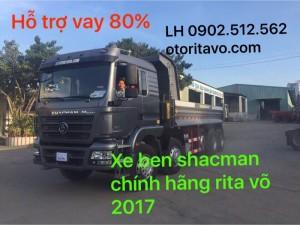 Khuyến mãi cực khủng của xe ben shacman 2017 dành cho Bà Rịa Vũng Tàu
