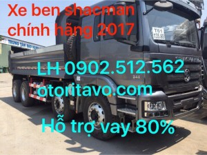 Bảng giá xe shacman 2017 Rita Võ