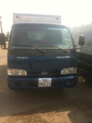 Bán xa tải Thaco Kia K165 Thùng kín vách inox, trả góp