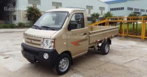Xe tải Dongben mui bạt 800kg – Dongben thùng lững 850kg thùng dài 2450 mm