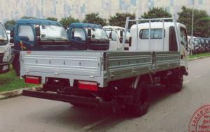 Xe tải VEAM 2T4 thùng lửng, VT252-1 TL dai 4m1 máy HYUNDAI