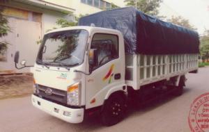 Xe tải VEAM 3T5 thùng mui bạc 6m1, Xe tải VEAM VT340s MB thùng 6m1