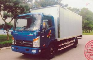 Xe tải VEAm 3T5 thùng kín 6m1, VEAM VT340s Tk thùng 6m1