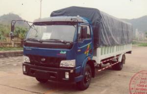 Xe tải 6t5 Máy NISSAN, VT650 thùng mui bạc thùng 6m1