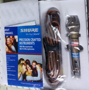 Micro có dây shure  SM 78A USA