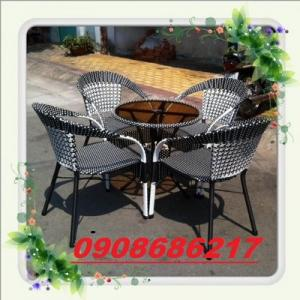 Thanh lí bàn ghế cafe sân vườn giá rẻ nhất